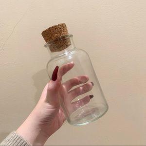 Vintage cork jar